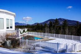 White Mountain Hotel, Bretton Woods Skiing & a Frozen Waterfall Hike 1043