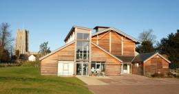 the new village hall in the historical village of lavenham boasts a 110