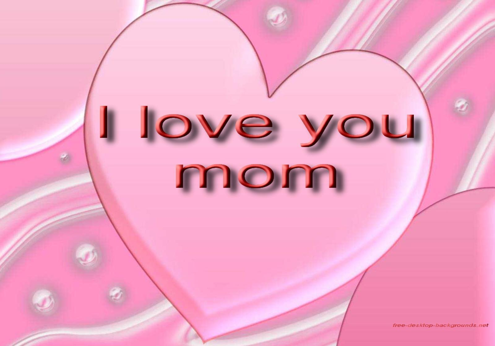 love mom mothers day desktop wallpaper 757
