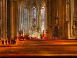 Church Interior HDR by Zerseu on deviantART 1481