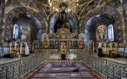 inside a beautiful orthodox church hdr 109032 1631