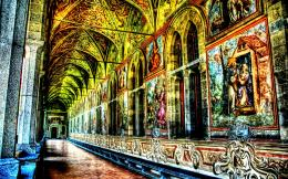 Glorious Interior Of The Church Santa Hdr hd wallpaper #1696382 558