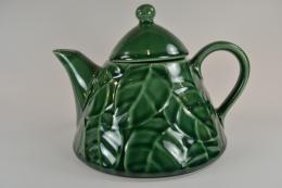 Pier One Jade Leaves China TeapotTeapots 1021