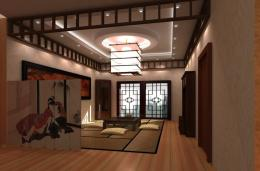 Japanese living room interior design ideas 1010