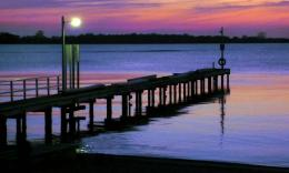 PanoramioPhoto of Jetty at sunset, Lake King, Metung 362