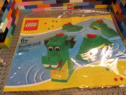 Lego 40019 Brickley The Sea Dragon Serpent Nessy Loch Ness Monster 1018