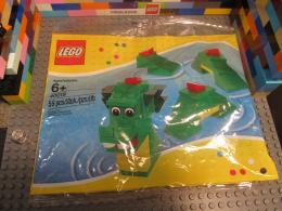 Lego 40019 Brickley the Sea Dragon Serpent Nessy Loch Ness Monster 1718
