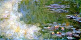 Monet Paintings Claude Monet The Water Lily Pond Pink Harmony 1817