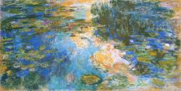 Water Lily Pond Claude Monet WikiArt org 1199