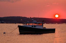 fishing boat at sunset ferry beach sunset boys at ferry beach a couple 850