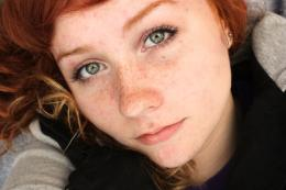 tags red hair world green eyes freckles 1402