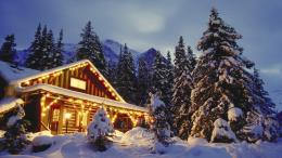 christmas cabin wallpaper 1048018 christmas wallpaper 186