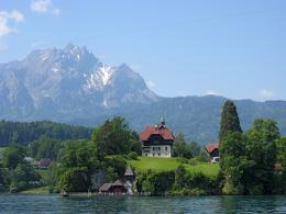 From the boat on Lake Lucerne, Switzerland 493