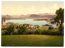 File:The lake and panorama of the Alps, Lucerne, Switzerland 673