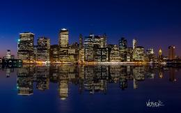 Manhattan Night Skyline picture 1545