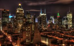 manhattan in the night Desktop Wallpapers and Backgrounds 1325
