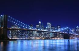 Brooklyn Bridge and Manhattan skyline At NightAl\'s BlogAdvice 245