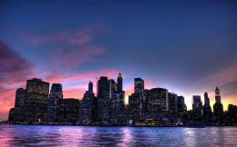 Manhattan Night View 1280x800 1583