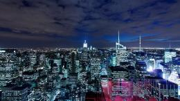 Manhattan Night NYC1920x108016:9 1513