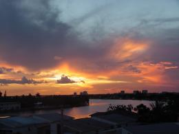 PanoramioPhoto of Miami Beach sunset, USA 1228