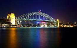 Download Sydney Harbour Bridge Australia Wide wallpaper in City 1217