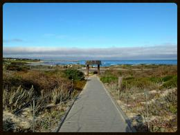 Early Morning on the Boardwalk: Asilomar, Pacific Grove, CA | Flickr 1370