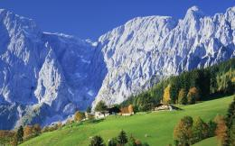 Stuning Scenery In Austrian Alps wallpaper 820