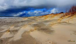 Beach after a storm wallpaper 1152