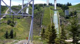 Calgary Olympic Park, Zip line #1YouTube 1898