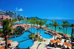 shared pools for guests of The Royal Hawaiian and Waikiki Sheraton 819