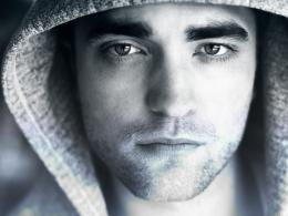 robert pattinson black and white photo 1649