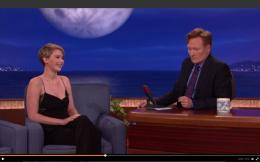 Jennifer Lawrence tells Conan about sex toys, wetting the bed 1612