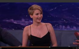 Gossip Jennifer Lawrence tells Conan about sex toys, wetting the bed 1427