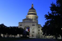 PanoramioPhoto of Texas Capital at dusk 835