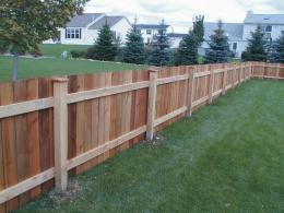 Custom Wood Fences | Simpson Fence Co| Residential – Commercial 1547
