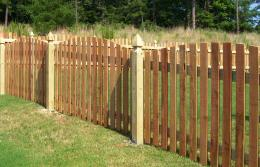 Mossy Oak FenceWood picket fence 1302