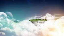 download fantasy floating island wallpaper in 3d abstract wallpapers 1901