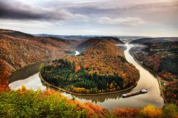 Breathtaking Landscapes saar loop germany wallpaper 83 1 1460