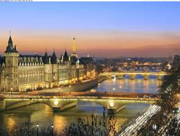 paris on the banks of the seine river france jpg 387