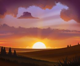 Sunset Animation The Ultimate Collection Of 3ds Max Tutorials Pictures 1684