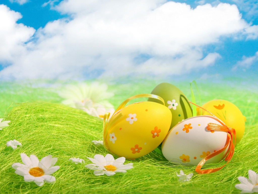 Vector Flowers Beautiful Beauty Clouds Daisies Daisy Easter Egg Eggs 1858
