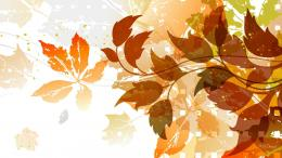 Vector Fall Foliage Hd Wallpaper | Wallpaper List 1910