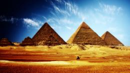 Download Egypt Pyramids HDR wallpaper in CityWorld wallpapers with 869