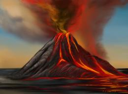 Volcano PictureHD Photos Gallery 1535