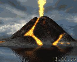 Active Volcano 3D ScreensaverThis is the volcano that will be 1976