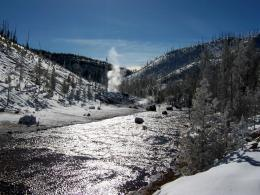 PanoramioPhoto of Yellowstone in Winter 587