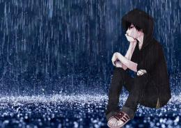 Alone Boy HD Wallpaper and Images Boy in rain 104