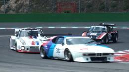 Amazing BMW M1 & Porsche 935 Ferrari 712 at the Spa ClassicCER 1674