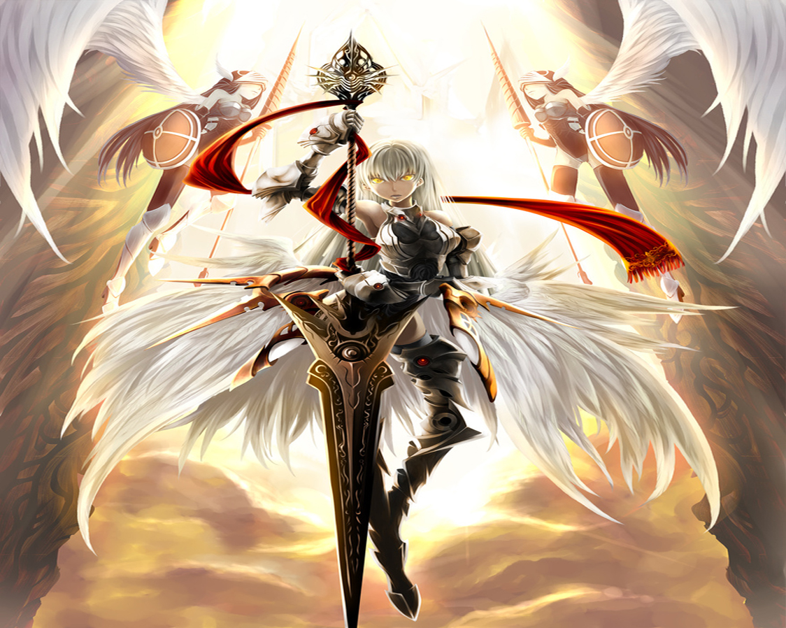Angel of Knight Warrior wallpaperForWallpaper com 1343