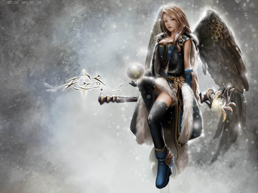 Angel Warrior Tattoo Design By Picture #17140 1463